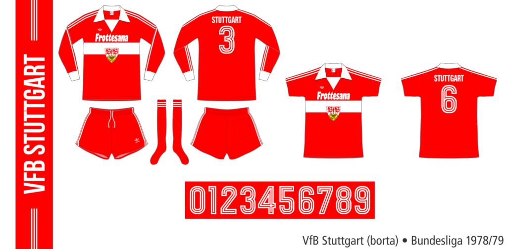 VfB Stuttgart 1978/79 (borta, Adidas)