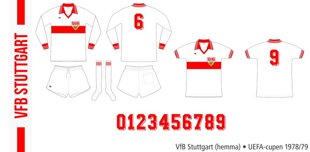 VfB Stuttgart 1978/79 (hemma, UEFA-cupen)