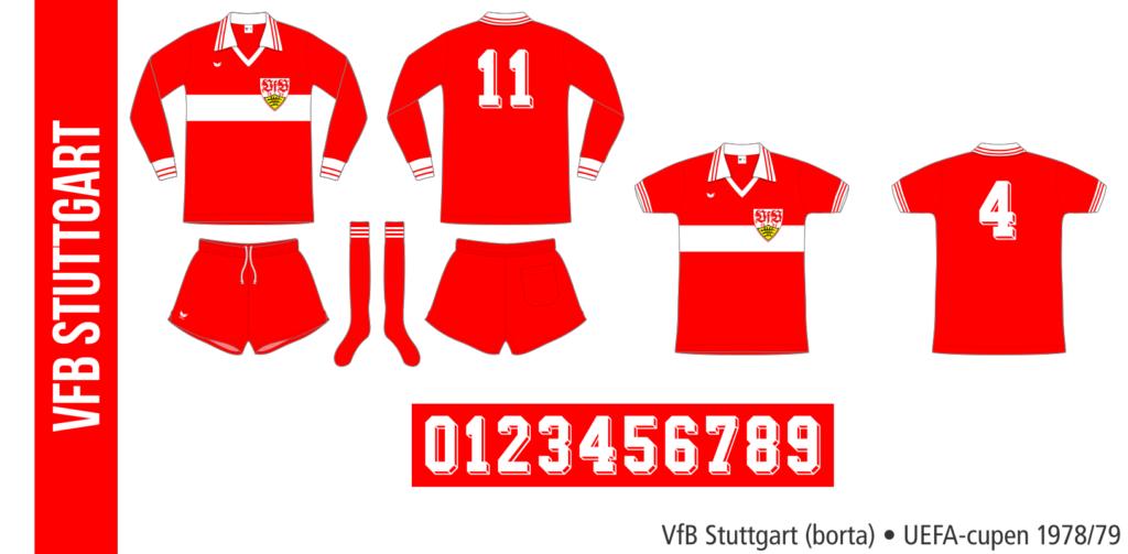 VfB Stuttgart 1978/79 (borta, UEFA-cupen)