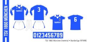 TSV 1860 München 1979/80 (hemma)