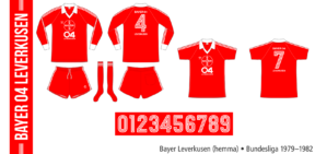 Bayer Leverkusen 1979–1982 (hemma)
