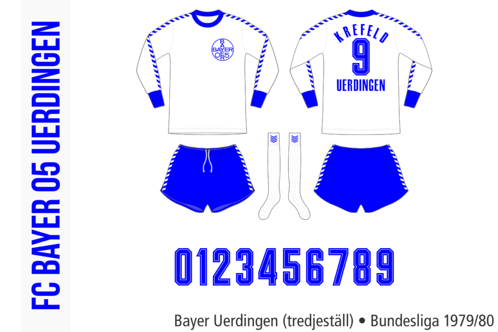 Bayer Uerdingen 1979/80 (trredjeställ)