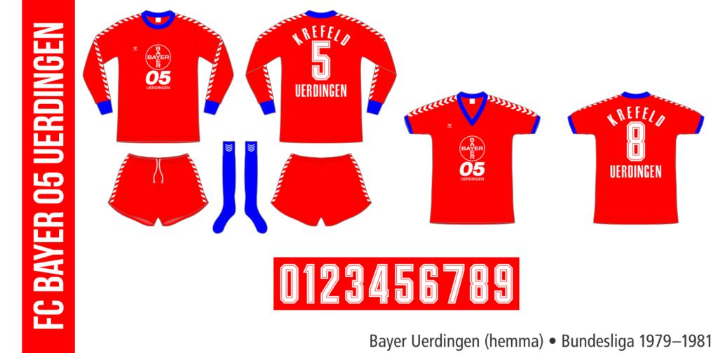 Bayer Uerdingen 1979–1981 (hemma)