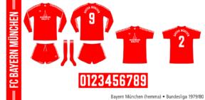 Bayern München 1979/80 (hemma)