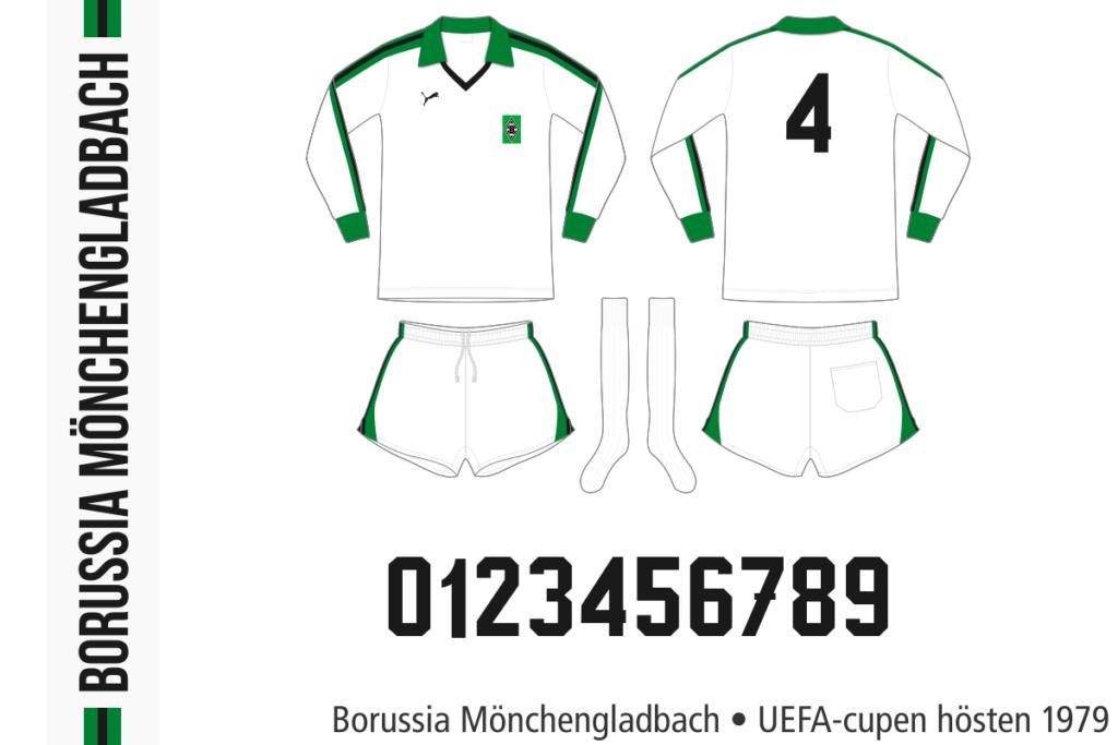 Borussia Mönchengladbach 1979/80 (UEFA-cupen, hösten 1979)