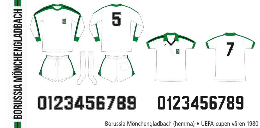 Borussia Mönchengladbach 1979/80 (UEFA-cupen, våren 1980)