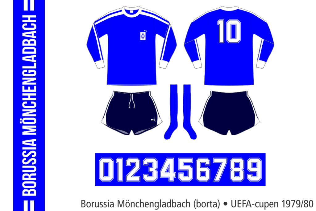 Borussia Mönchengladbach 1979/80 (UEFA-cupen, borta)