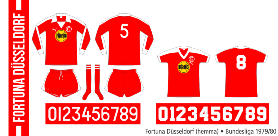 Fortuna Düsseldorf 1979/80 (hemma)