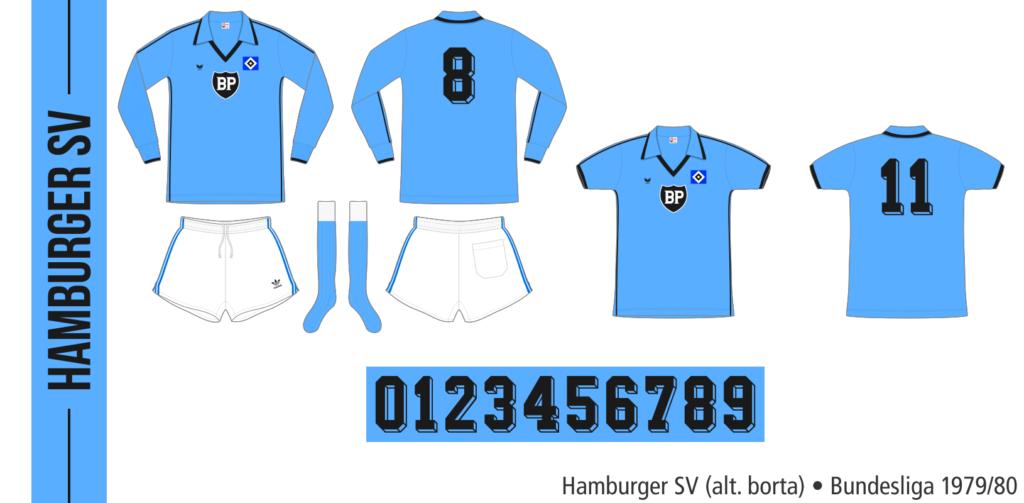 Hamburger SV 1979/80 (alternativ borta)