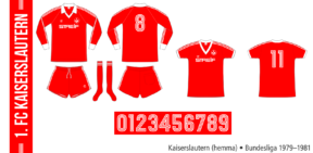 Kaiserslautern 1979–1981 (hemma)