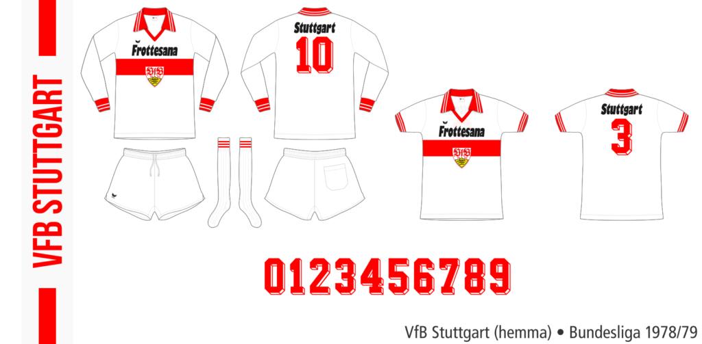 VfB Stuttgart 1978/79 (hemma, Erima)