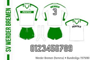 Werder Bremen 1979/80 (hemma)