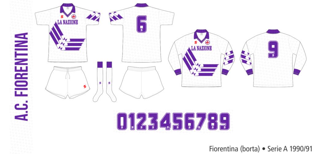 Fiorentina 1990/91 (borta)