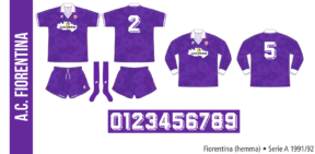 Fiorentina 1991/92 (hemma)