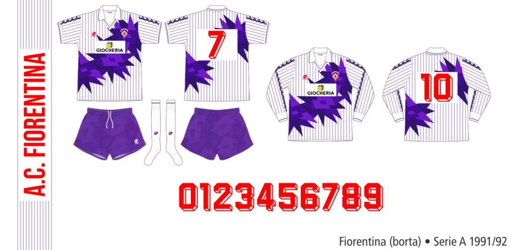 Fiorentina 1991/92 (borta)