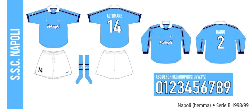 Napoli 1998/99 (hemma)