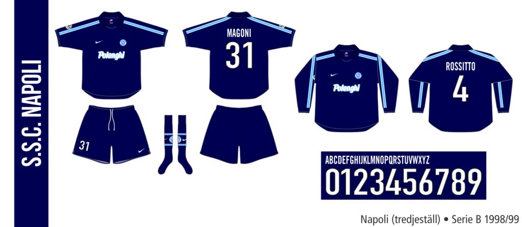 Napoli 1998/99 (tredjeställ)