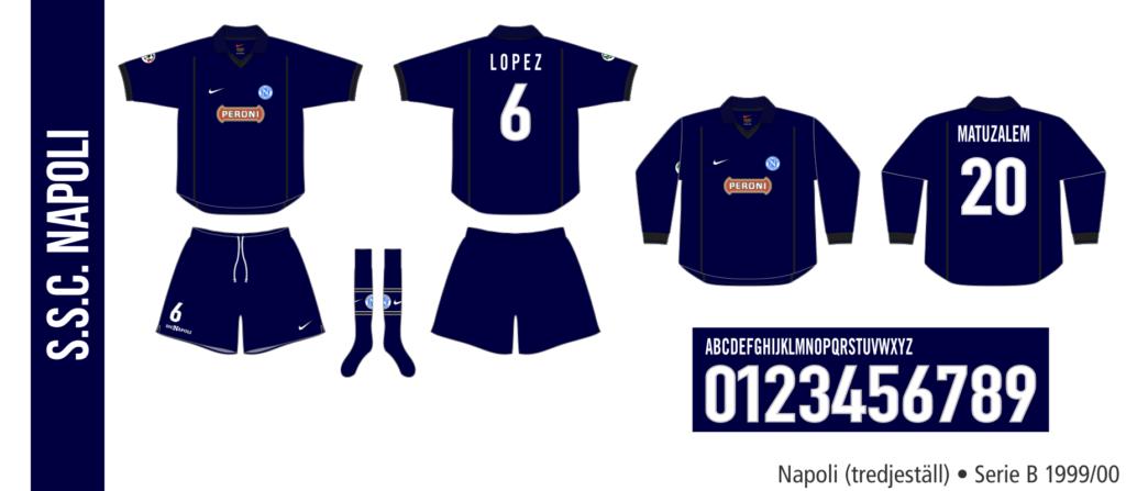 Napoli 1999/00 (tredjeställ)