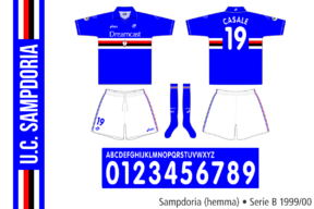 Sampdoria 1999/00 (hemma)