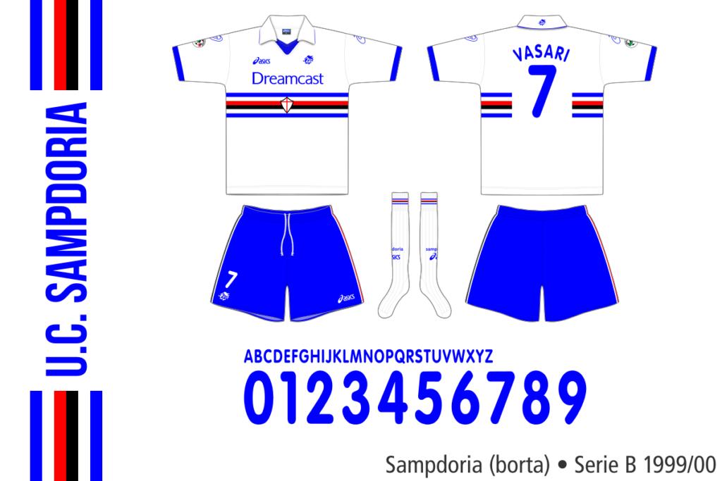 Sampdoria 1999/00 (borta)