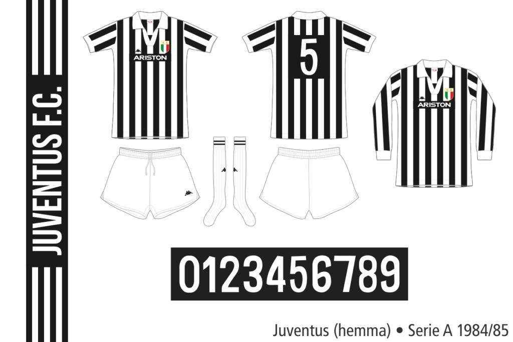 Juventus 1984/85 (hemma)