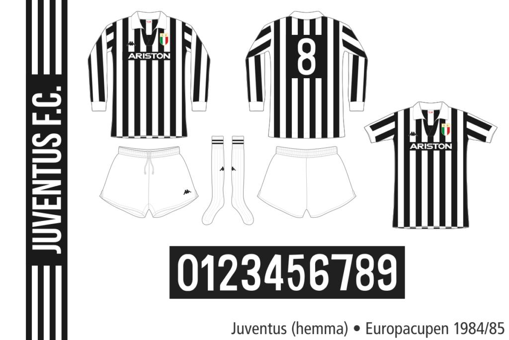 Juventus 1984/85 (hemma, Europacupen)