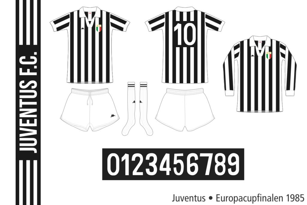 Juventus 1984/85 (Europacupfinalen)