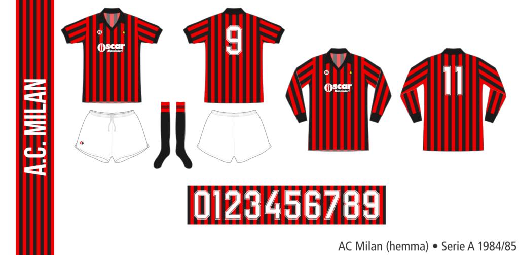 AC Milan 1984/85 (hemma)
