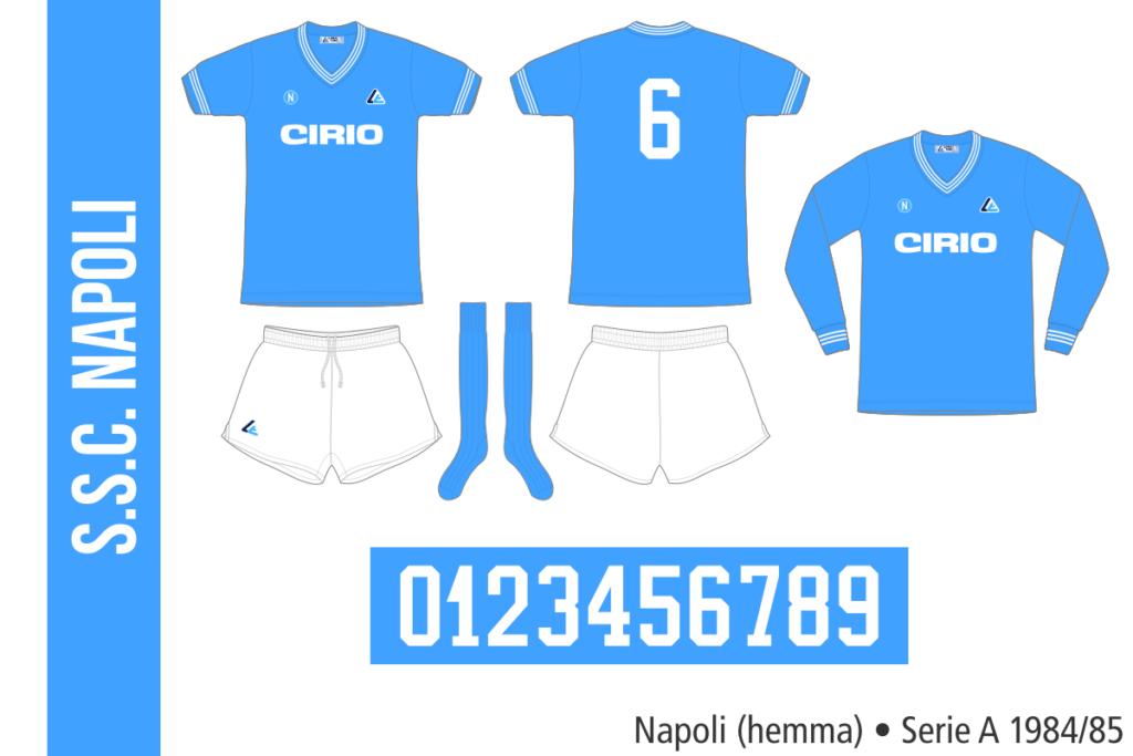 Napoli 1984/85 (hemma)