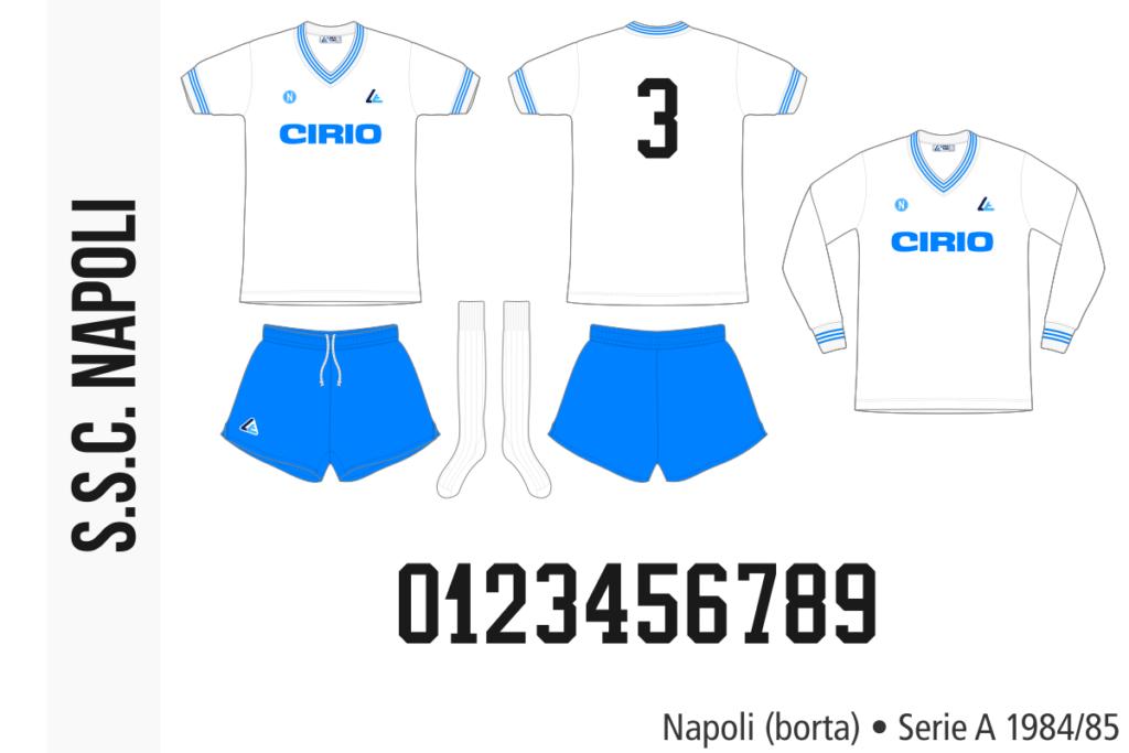 Napoli 1984/85 (borta)