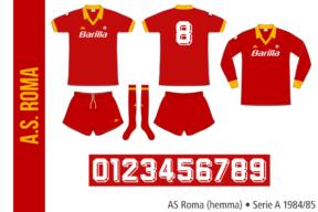 AS Roma 1984/85 (hemma)