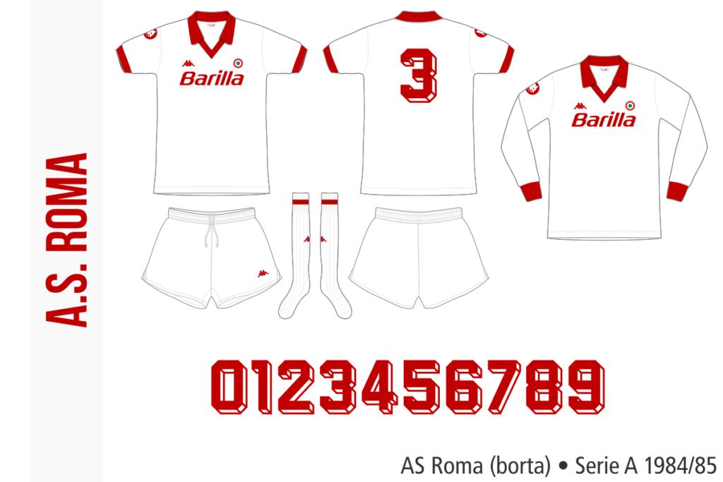 AS Roma 1984/85 (borta)