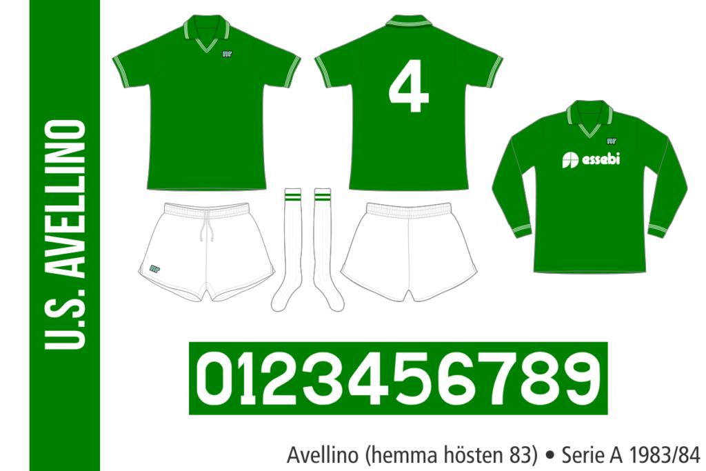 Avellino 1983/84 (hemma hösten 83)