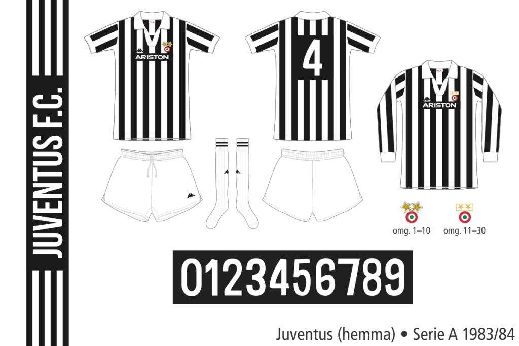 Juventus 1983/84 (hemma)