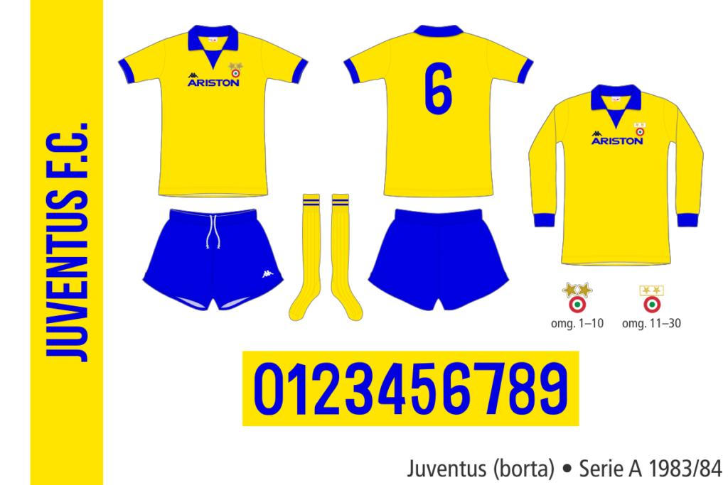 Juventus 1983/84 (borta)