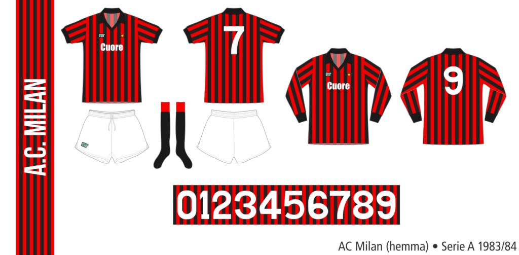 AC Milan 1983/84 (hemma)
