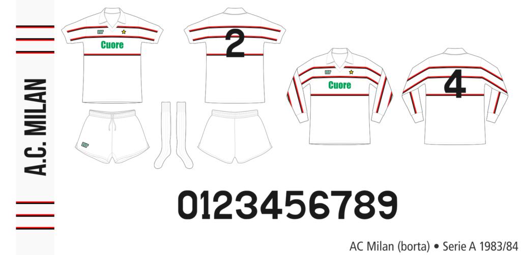 AC Milan 1983/84 (borta)