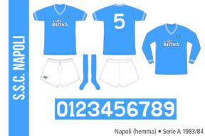 Napoli 1983/84 (hemma)