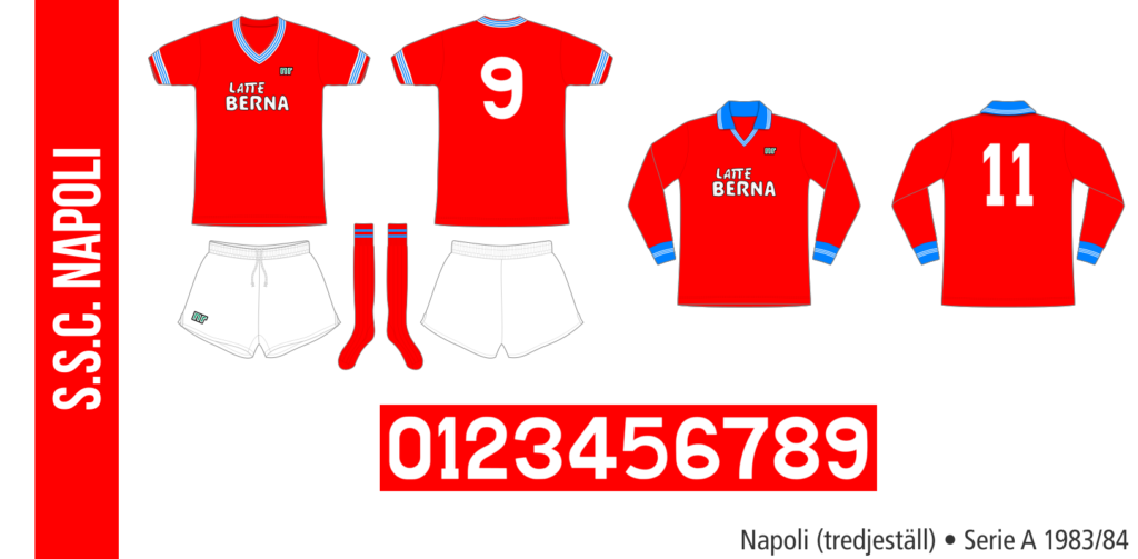 Napoli 1983/84 (tredjeställ)