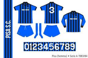 Pisa 1983/84 (hemma)