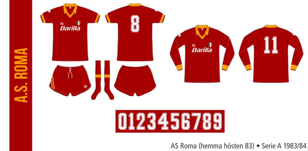 AS Roma 1983/84 (hemma hösten 83)