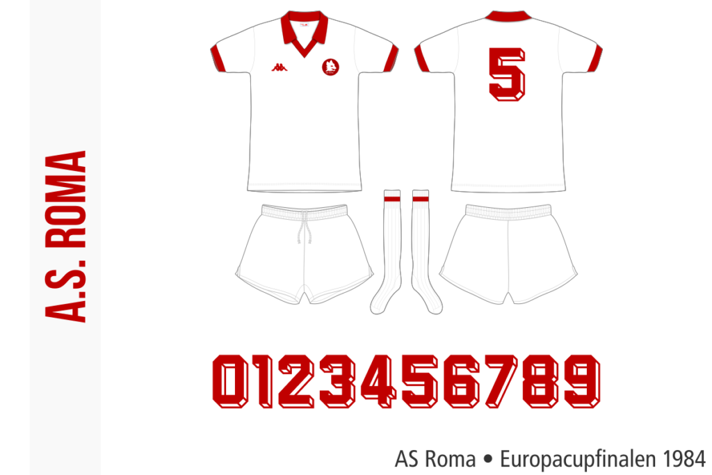 AS Roma 1983/84 (Europacupfinalen 1984)