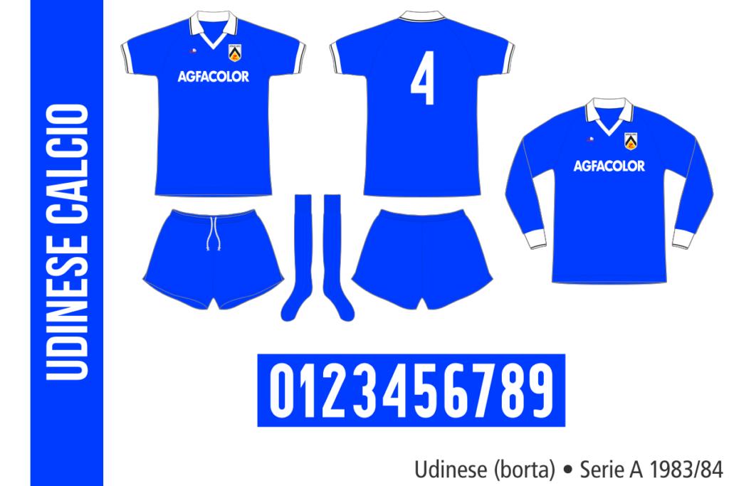 Udinese 1983/84 (borta)