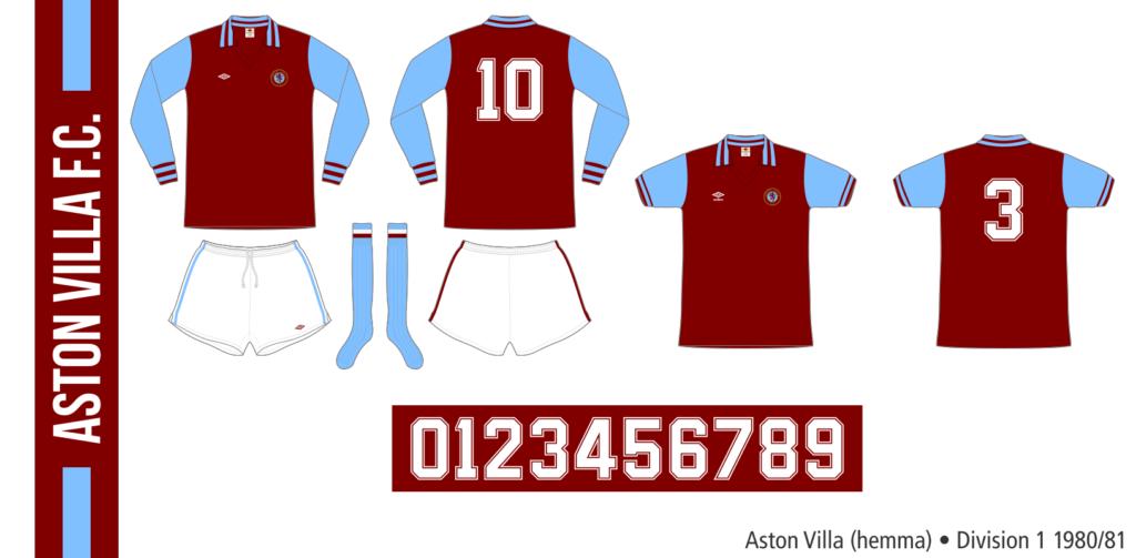 Aston Villa 1980/81 (hemma)