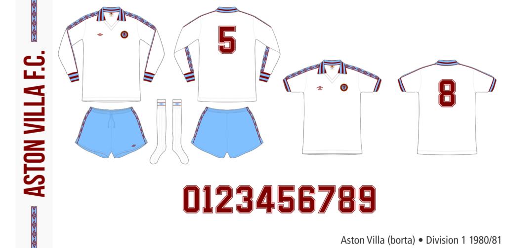Aston Villa 1980/81 (borta)