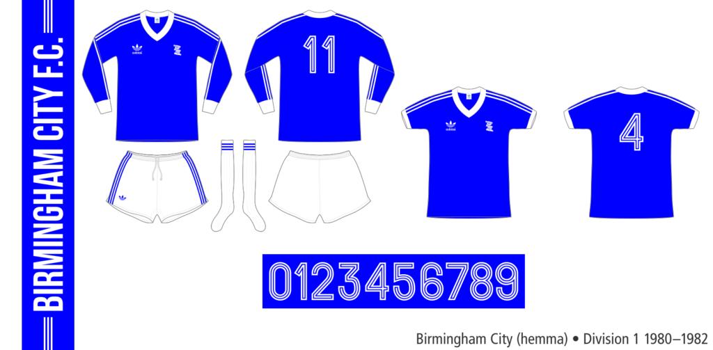 Birmingham City 1980–1982 (hemma)