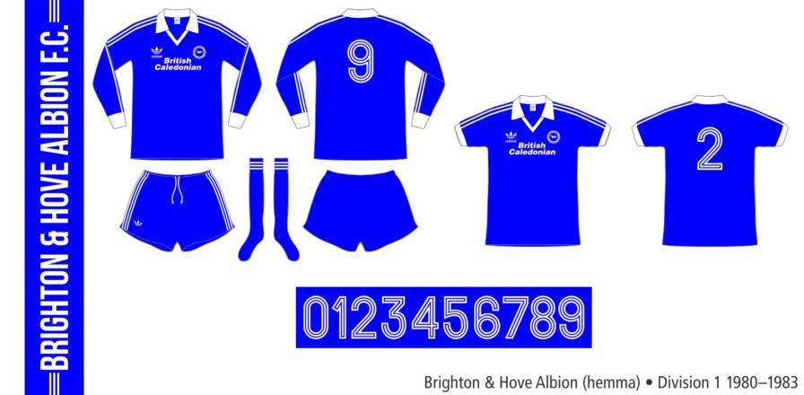 Brighton & Hove Albion 1980–1983 (hemma)