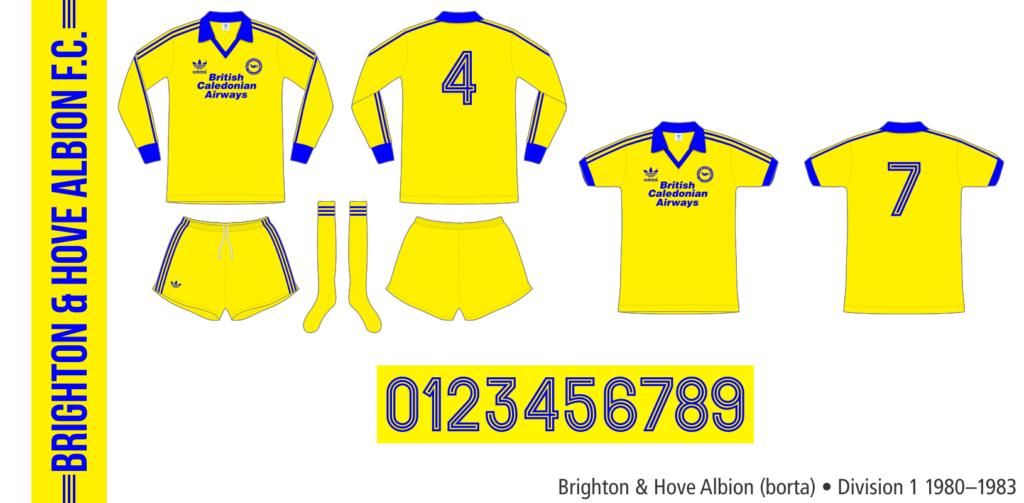 Brighton & Hove Albion 1980–1983 (borta)