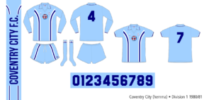 Coventry City 1980/81 (hemma)