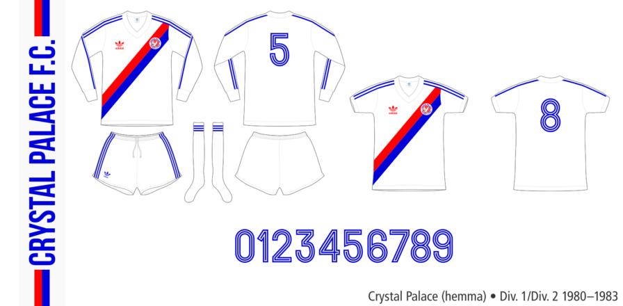 Crystal Palace 1980–1983 (hemma)